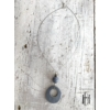 Kép 2/2 - Acélszürke lyukas medálos nyaklánc