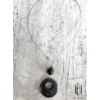 Kép 2/2 - Bronz lyukas medálos nyaklánc