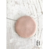 Kép 1/2 - Púderrózsaszín egymedálos nyaklánc